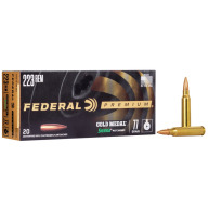 FEDERAL AMMO 223 REMINGTON 77gr SRA HPBT (G/M) 20/bx 10/cs