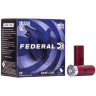 "FEDERAL AMMO 12ga 2.75"" 3.25d 1oz #8 25/bx 10/cs"
