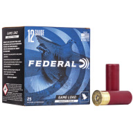 "FEDERAL AMMO 12ga 2.75"" 3.25d 1-1/8oz #4 25/bx 10/cs"