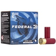 "FEDERAL AMMO 12ga 2.75"" 3.25d 1-1/8oz #6 25/bx 10/cs"