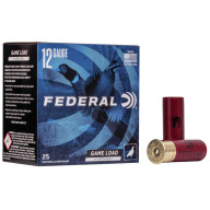 "FEDERAL AMMO 12ga 2.75"" 3.75d 1.25oz #7.5 25/bx 10/cs"