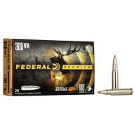 FEDERAL AMMO 308 WINCHESTER 180gr TROPY BONDED TIP 20/b 10c