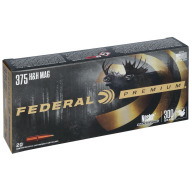 FEDERAL AMMO 375 H&H 300g NOSLER PARTITION (V/S) 20/b 10/c