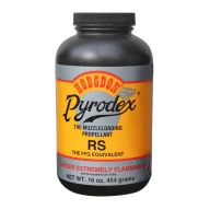 HODGDON PYRODEX RS 1LB POWDER RIFLE/SHOTGUN 10/C