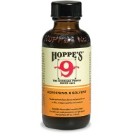 HOPPES #9 POWDER SOLVENT 2oz BOTTLE 10/CS