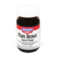 BIRCHWOOD-CASEY PLUM BROWN 5oz BARREL FINISH 6/CS