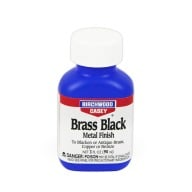 BIRCHWOOD-CASEY BRASS BLACK TOUCH-UP 3oz 6/CS