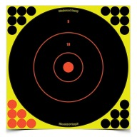 "BIRCHWOOD-CASEY SHOOT-NC 12"" ROUND BULL 5/PKG 6/CS"