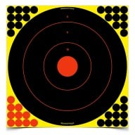 "BIRCHWOOD-CASEY SHOOT-NC 17.25"" ROUND BULLSEYE 5/PKG 6/CS"