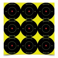 "BIRCHWOOD-CASEY SHOOT-NC 2"" ROUND BULL 108/PKG 12/CS"