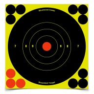 "BIRCHWOOD-CASEY SHOOT-NC 6"" ROUND BULL 12/PKG 12/CS"