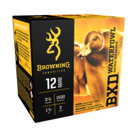 "BROWNING AMMO 12ga 3.5"" 1.5oz 1500fps #2 25/bx 10/cs"