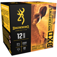 "BROWNING AMMO 12ga 3.5"" 1.5oz 1500fps #BB 25/bx 10/cs"