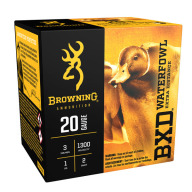 "BROWNING AMMO 20ga 3"" 1oz 1300fps #2 25/bx 10/cs"