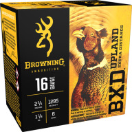 "BROWNING AMMO 16ga 2.75"" 1-1/8 1295fps #6 25/bx 10/cs"