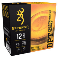 BROWNING AMMO 12ga 3d 1-1/8oz 1200fps #7.5 250/cs