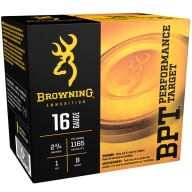 BROWNING AMMO 16ga 2.75d 1oz 1165fps #8 250/cs