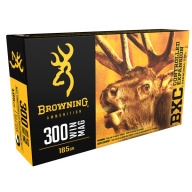 BROWNING AMMO 300 WINCHESTER MAG 185g BIG GAME BXC 20/bx 10/cs