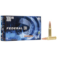 FEDERAL AMMO 308 WINCHESTER 150gr COPPER (P/S) 20/bx 10/cs