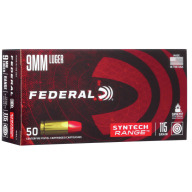 FEDERAL AMMO 9MM 115gr TSJ SYNTH-JACKET 50/bx 10/cs