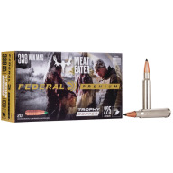 FEDERAL AMMO 338 WINCHESTER 225gr TROPHY COPPER 20/bx 10/cs