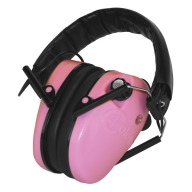 CALDWELL EMAX LOW PROFILE STEREO EAR MUFFS PINK