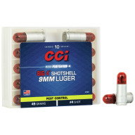CCI AMMO 9MM SHOTSHELL #4 10/bx 20/cs