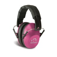 WALKERS PRO-LOW PROFILE FOLDING MUFF PINK 22dB