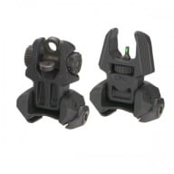 MAKO AR-15 FRONT AND REAR SIGHTS W/TRITIUM 2-DOTS