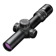 Burris Xtreme Tactical XTRII Rifle Scope 1-8x24mm 34mm Tube MAD Knob System Matte Illuminated Ballistic Circle Dot Reticle
