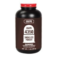 IMR POWDER 4350 1LB (1.4c) 10/CS