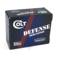 COLT AMMO 38 SUPER 124gr JHP DEFENSE 20/BX 10/CS