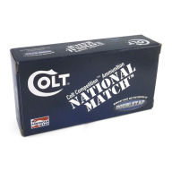 COLT AMMO 10MM 180gr FMJ NAT'L MATCH 50/BX 20/CS