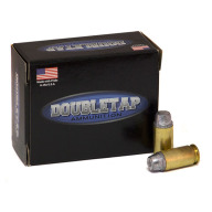 DOUBLETAP AMMO 45 ACP+P 255gr HARDCAST SWC SOLID 20/BX