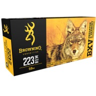 BROWNING AMMO 223 REMINGTON 50gr BXV 20/bx 10/cs