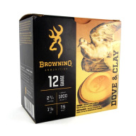 "BROWNING AMMO 12ga 2.75"" 1-1/8 1200fps #7.5 25/bx 10/cs"