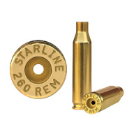 Starline Brass 260 Remington Unprimed Bag of 100