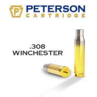 Peterson Brass 308 Winchester Match Unprimed Box of 50