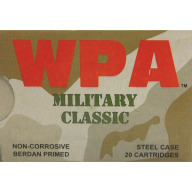 WOLF AMMO 7.62x39 124g SP MILITARY-CLASSIC 20b 50c