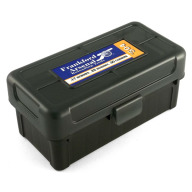 Frankford Arsenal Plastic Hinge-Top Ammo Box #504 50 Rounds