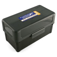 Frankford Arsenal Plastic Hinge-Top Ammo Box #509 50 Rounds