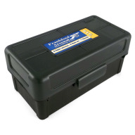 Frankford Arsenal Plastic Hinge-Top Ammo Box #512 50 Rounds