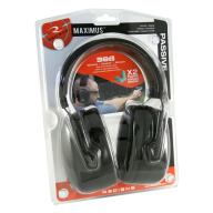 RADIANS MAXIMUS EARMUFF + DEFLECTOR EARPLUGS PKG