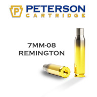 Peterson Brass 7mm-08 Remington Unprimed Box of 50