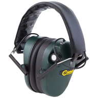 CALDWELL EMAX LOW PROFILE STEREO EAR MUFFS GREEN