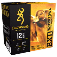 "BROWNING AMMO 12ga 3"" 1-1/4oz #3 BXD WATERFOWL 25b 10c"