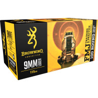 BROWNING AMMO 9MM LUGER 115gr FMJ VALUE PACK 100bx 5cs