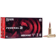 FEDERAL AMMO 224 VALKYRIE 75g TMJ AM.EAGLE 20/b 10/c