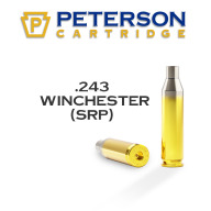 Peterson Brass 243 Winchester Small Primer Unprimed Box of 50