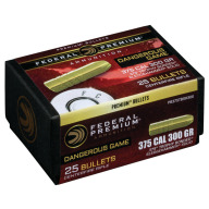 FEDERAL 458(.458) 500g SLEDGE HMR SOLID BULLET 25b 4cs